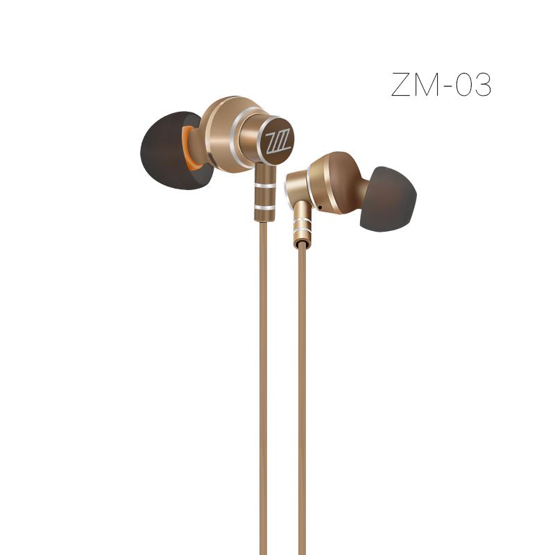 Zermie EMB-ZM-03 Deep Bass Stereo Metal Earphone фото