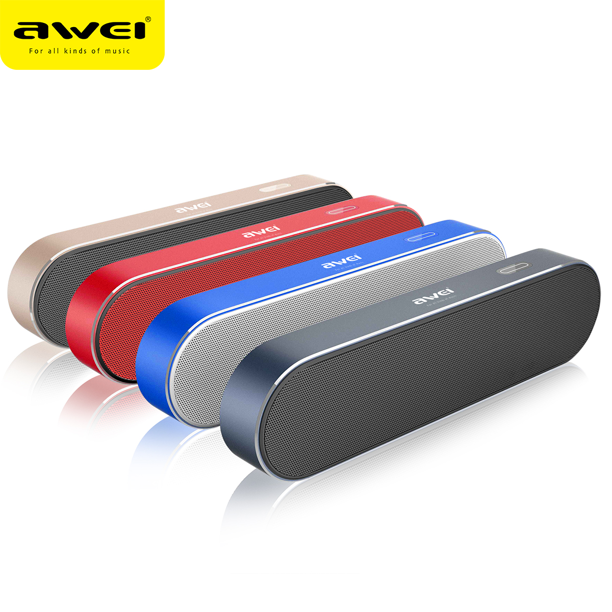 AWEI Y220 Portable Dual-Driver Wireless Bluetooth Speaker фото