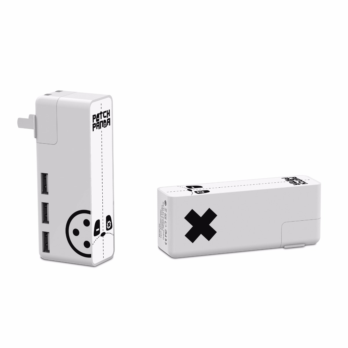 Patch Panda D3 USB Wall Adapter with Touch Night Light Function фото