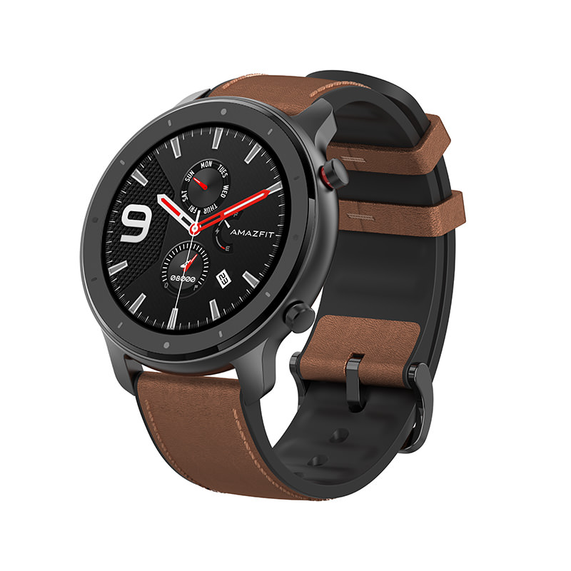 HUAMI AMAZFIT GTR Smartwatch 1.39 inch AMOLED Screen 47mm GPS GLONASS Global Version фото