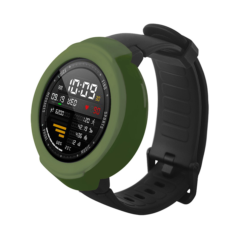 Protective Silicone Cover for Xiaomi Huami Amazfit Verge 3 фото