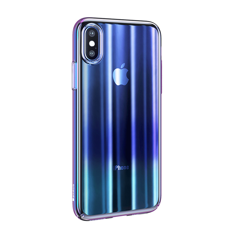 Baseus Luxury Aurora Case For iPhone Xs Xs Max XR