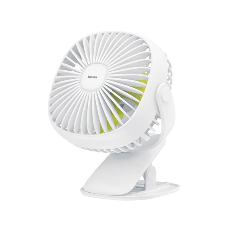 Baseus Mini USB Rechargeable Box Clamping Fan фото