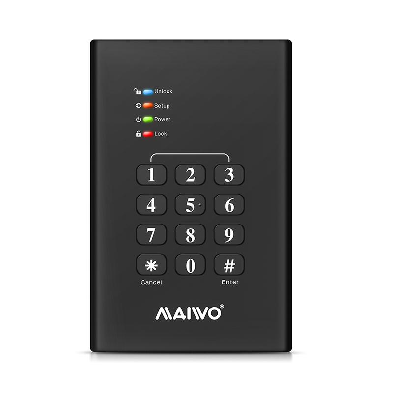 Maiwo K2568KPA HDD Keyboard Enclosure фото