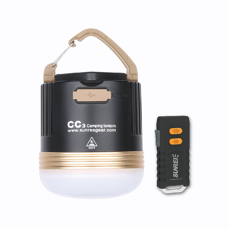 SUNREI CC3 Camping Emergency Light Rechargeable Portable LED Lamp 9900mAh Power Bank фото