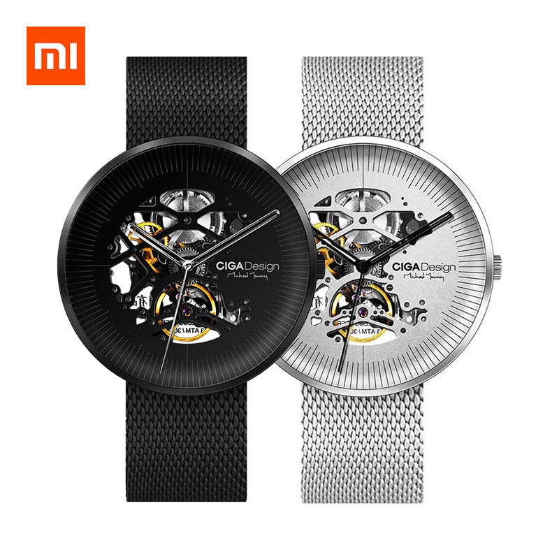 CIGA Hollowed-out Mechanical Automatic Watch from Xiaomi Youpin фото