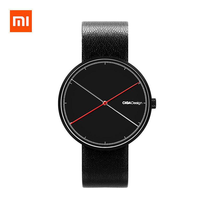 Xiaomi CIGA Design X Series Double Needle Quartz Watch Genuine Leather Strap фото
