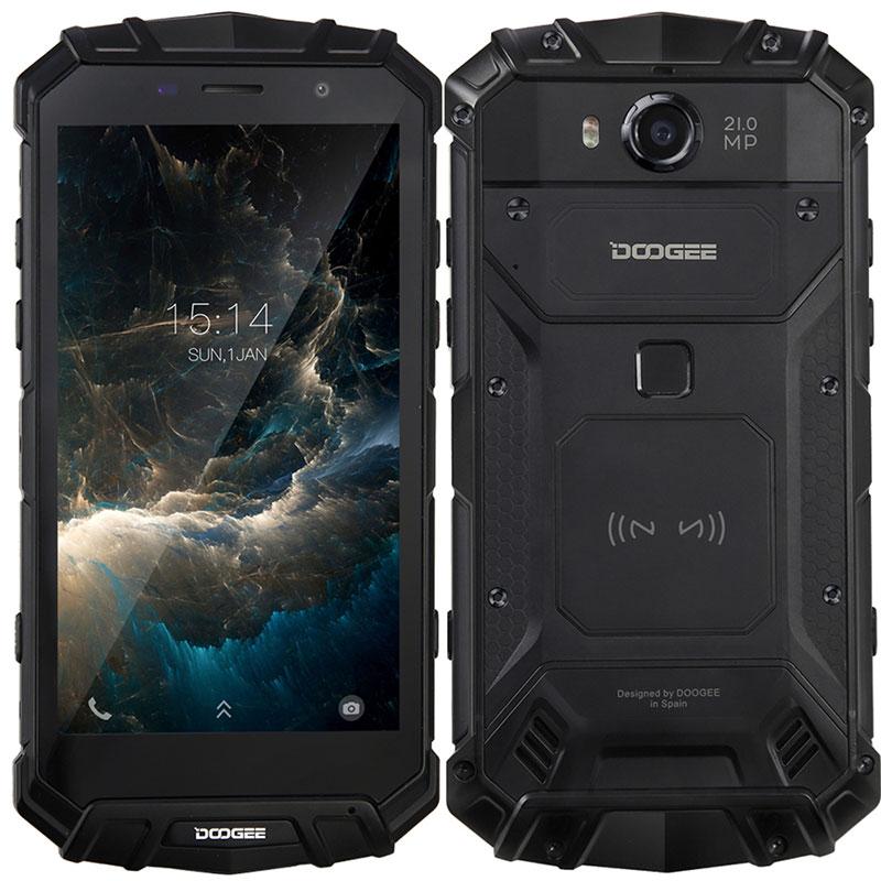DOOGEE S60 Lite NFC 4G Smartphone 5.2 Inch IP68 4GB+32GB Wireless Charge фото