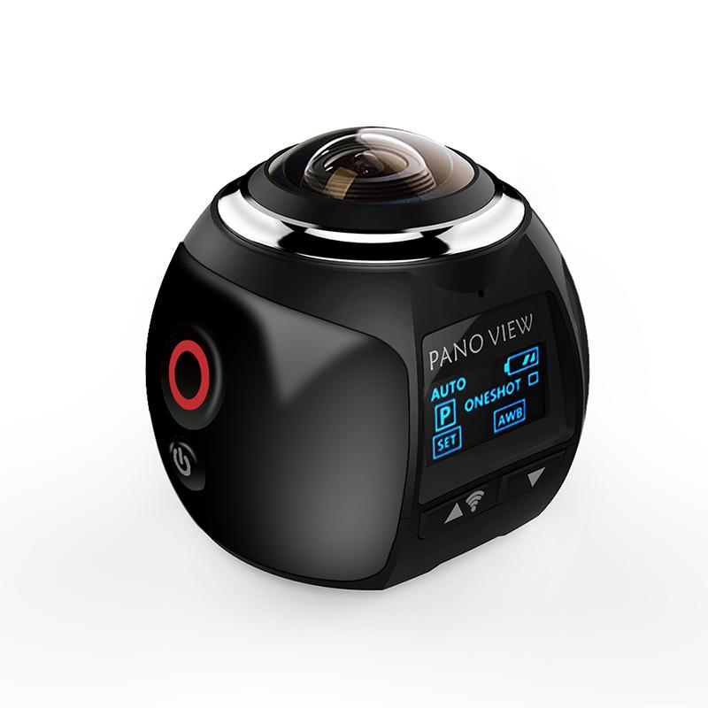 JZZH V1 Wifi Mini 360 Degree Action Camera Ultra HD Panorama VR Camera фото
