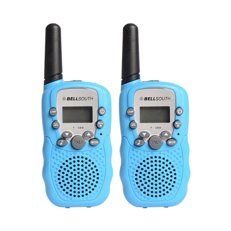 BELLSOUTH T-388 2pcs 22 Channel 0.5W UHF Mini Radios Walkie Talkies with Flashlight
