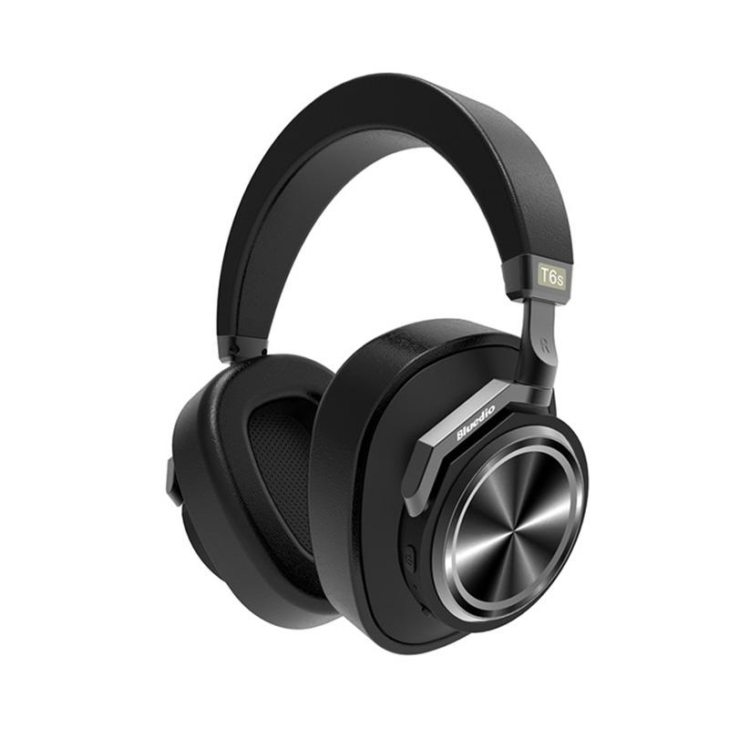 Bluedio T6S ANC Wireless Bluetooth Headphone with Microphone фото