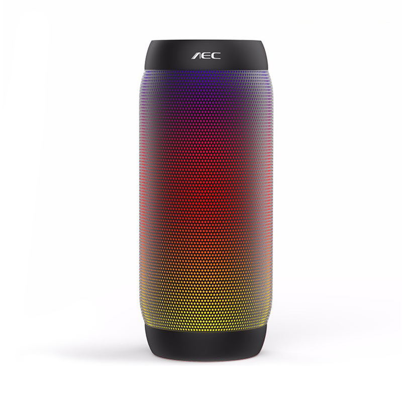 AEC BQ-615 PRO Wireless Bluetooth Speaker Colorful LED Lights фото