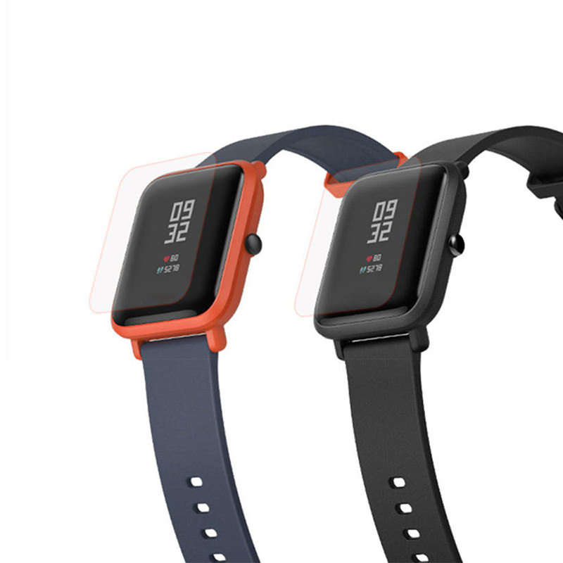 2Pcs Tempered Screen Protector Protective Film for Amazfit Bip Smartwatch фото