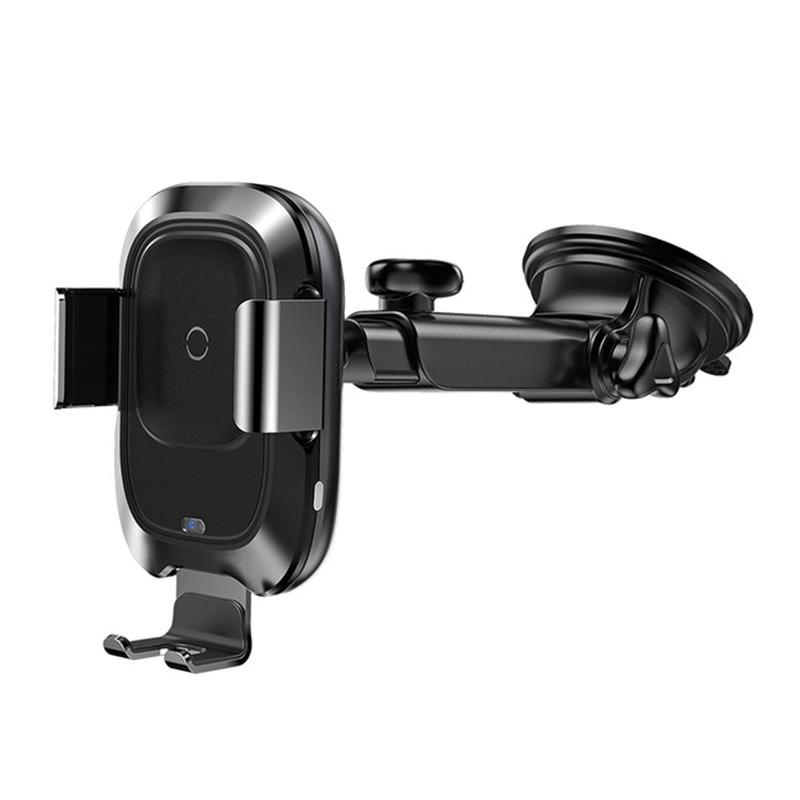 Baseus Qi Wireless Car Charger Phone Holder фото
