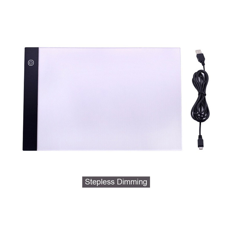 A4 LED Light Box Drawing Tablet Graphic Writing Digital Ultra-thin Tracer Copy Pad Board фото