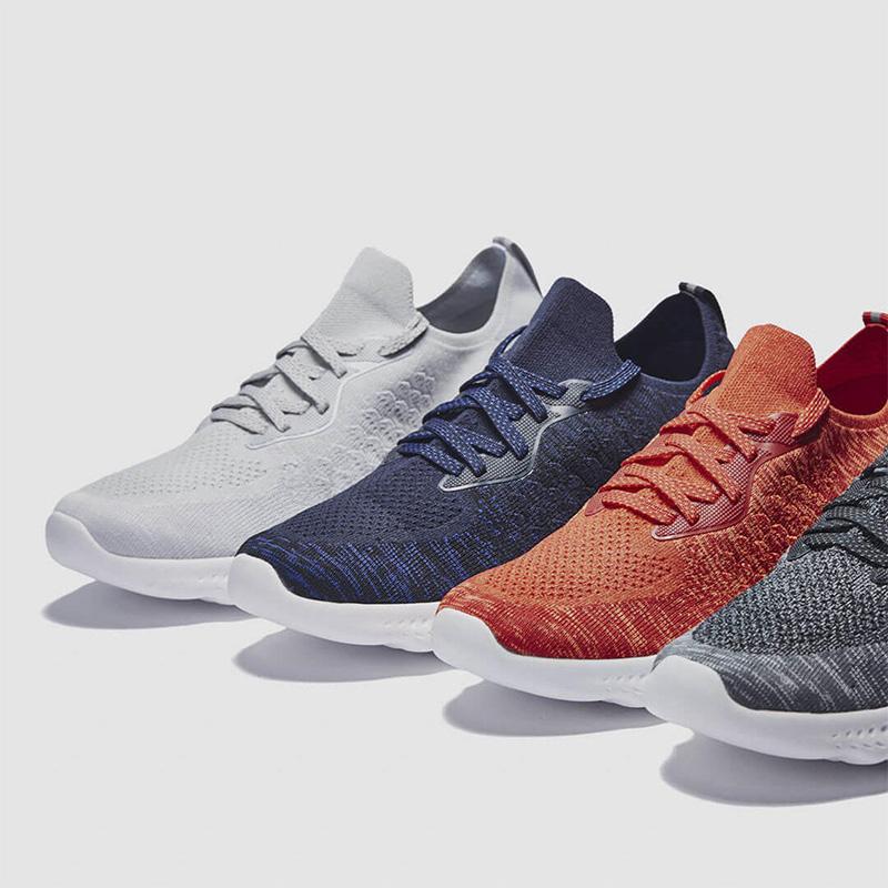 Xiaomi ULEEMARK Dragon Scale Pattern Men Sneakers Lightweight Breathable Non-slip фото