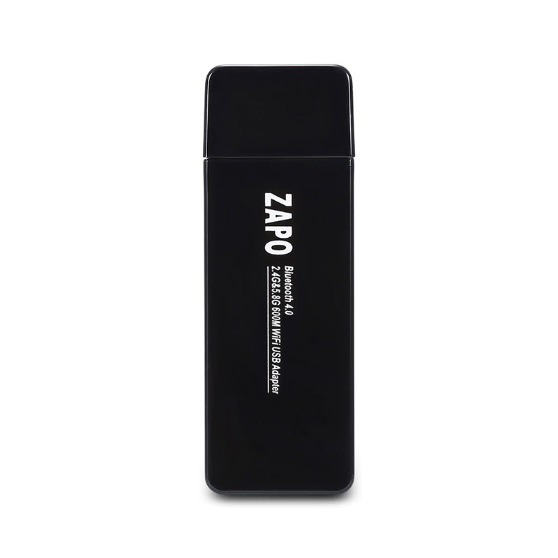 ZAPO W67B USB WiFi Adapter 600M Bluetooth Network Card Portable Network Router фото