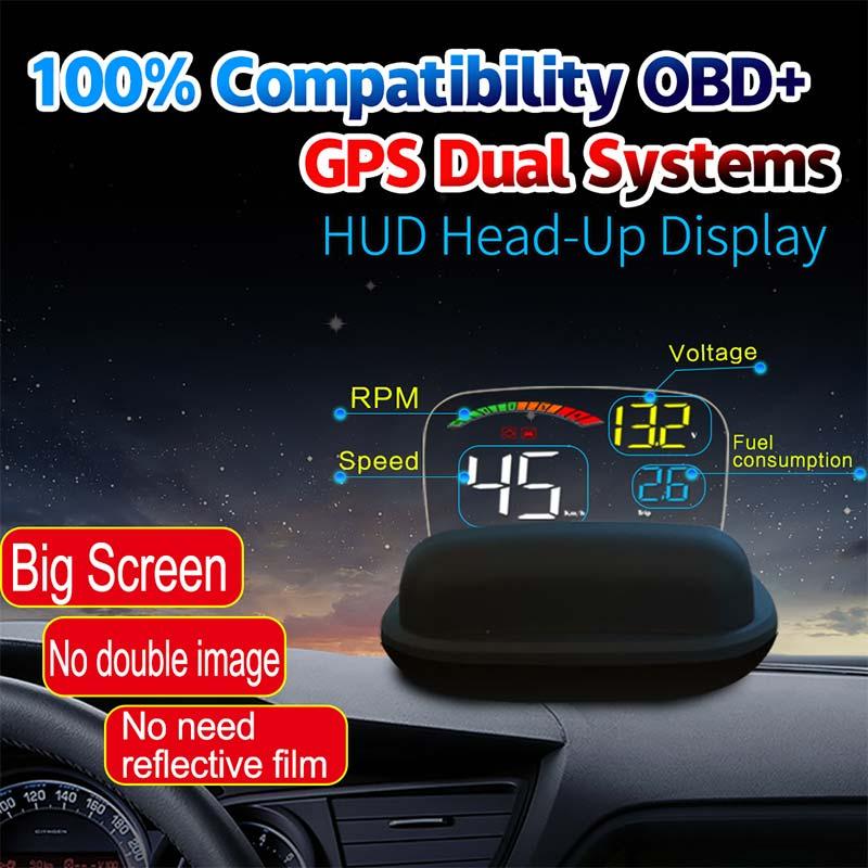 C800 cabeza de coche hasta pantalla - conducción sin proa C800_car_hud_head_up_display