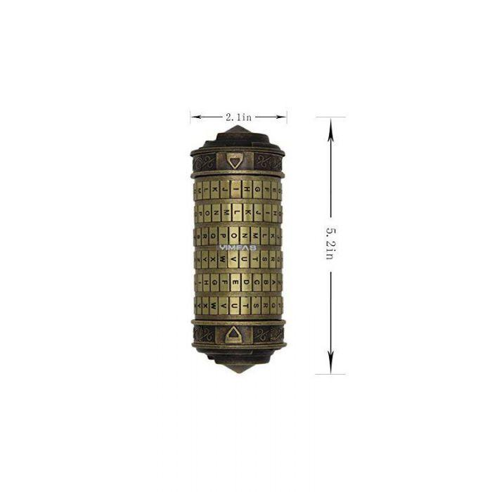Da Vinci Code Cryptex Combination Lock Romantic Gift