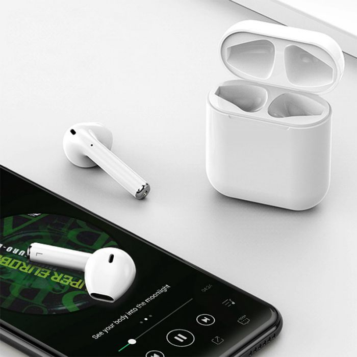 i12 TWS Bluetooth 5 0 Touch Earphones Binaural Call