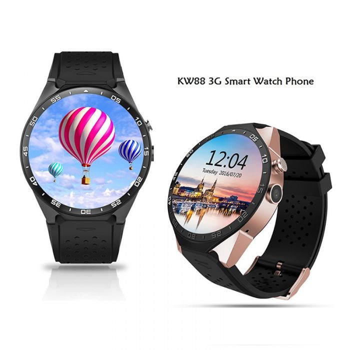 KingWear KW88 3G Smartwatch Phone 512MB RAM 4GB ROM