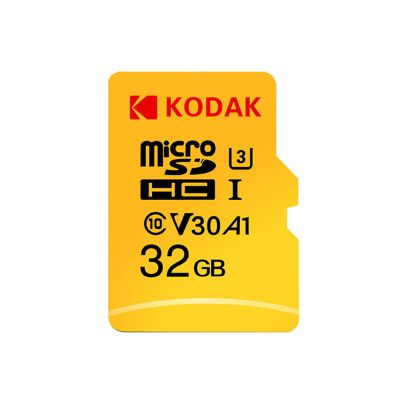 Kodak U3 A1 V30 Micro SD Card 100MB/s Reading Speed 4K UHD Recording - 256GB