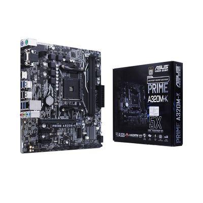 ASUS PRIME A320M-K Motherboard AMD Ryzen AM4 DDR4 HDMI VGA M.2 USB 3.1 Micro-ATX