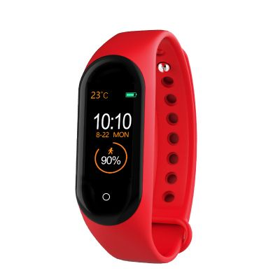 M4 Bluetooth Smart Wristband Full Record Color Screen USB Direct Charge