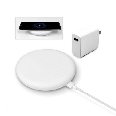 Xiaomi 20W Qi Wireless Charger & 27W Fast Charger Adapter with 1m Type-C Cable Set