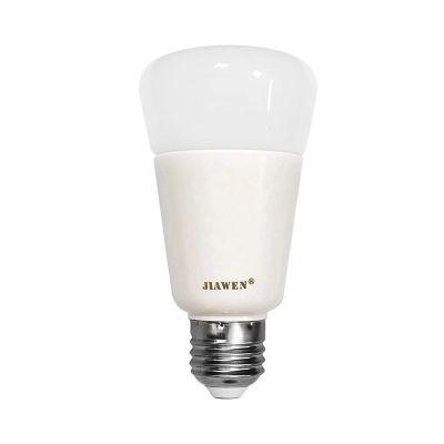 JIAWEN E27/E26 9W Smart 750LM RGBW Bulb Wireless APP Control Working with Zigbee Hub AC 100 - 240V