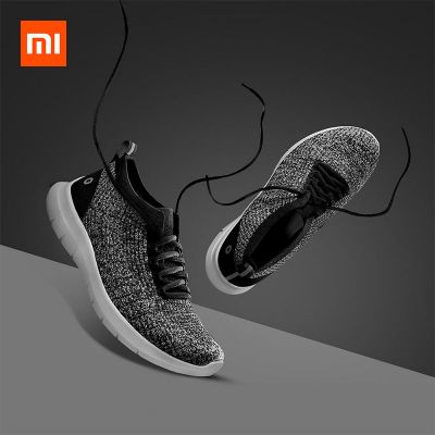 xiaomi amazfit one-piece woven upper running shoes