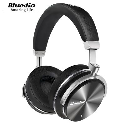 Bluedio T4 Active Noise Canceling Bluetooth Headphones with Mic Deep Bass