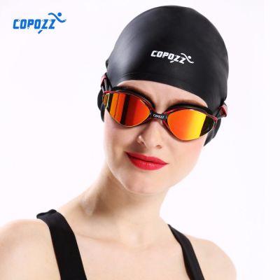 COPOZZ New Flexible Silicone Waterproof Swimming Caps