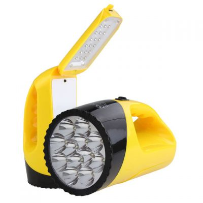 YAGE 3337 Portable LED Flashlight Handheld 2-modes Chargable Desk Lamp