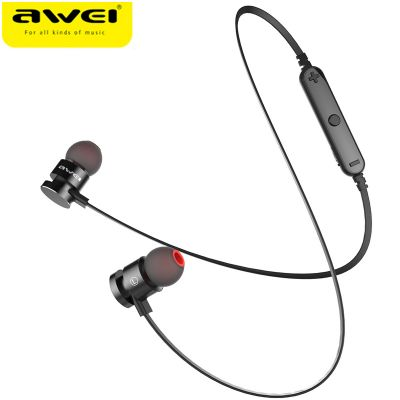 AWEI T11 Wireless Bluetooth V4.2 Headset With Neck Strap for Phone