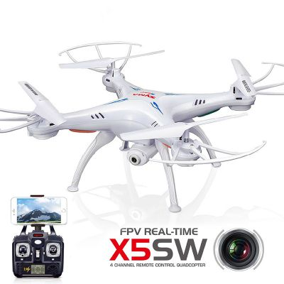 Syma X5SW 4CH 2.4GHZ FPV RC Quadcopter with HD Camera 6 Axis Gyro