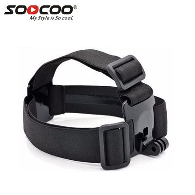SOOCOO Adjustable Elastic Non-Slip Headband for Xiaomi Yi GoPro SJ4000