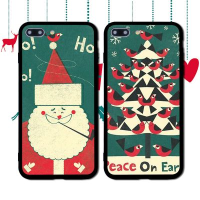 Protective Case Creative Christmas Series for iPhone
