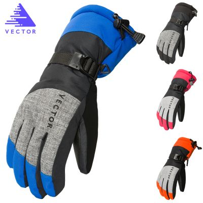VECTOR Unisex Ski Gloves Windproof Waterproof  Winter Gloves