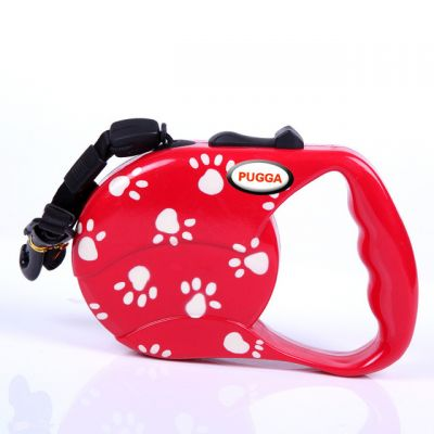 PUGGA GG8015D Automatic Retarctable Dog Leash ABS Plastic and Nylon Material