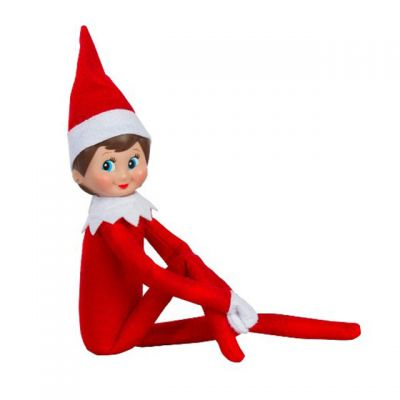 ELF Christmas Elf Doll for Kids Gifts-Red Boy and Girl Combo