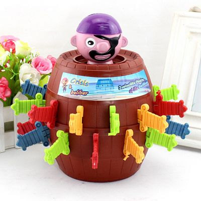 Pirate Barrel Toy for Children and Adults Lucky Stab Pop Up Intellectual Game