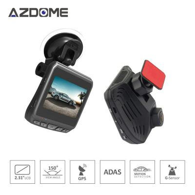 Azdome DAB211 Full HD Car DVR GPS Night Vision Dash Cam