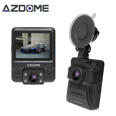 Azdome GS65H Mini Dual Lens Car DVR 1080P Full HD Night Vision Dash Cam