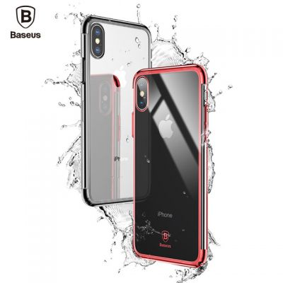 Baseus Ultra Thin Clear Transparent Hard PC Case for iPhone X