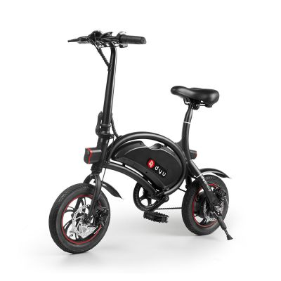 F - wheel DYU D2 Folding Electric Bike with 12 Inch Wheels