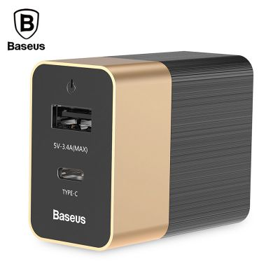 Baseus Duke Type-c PD + U Travel Charger