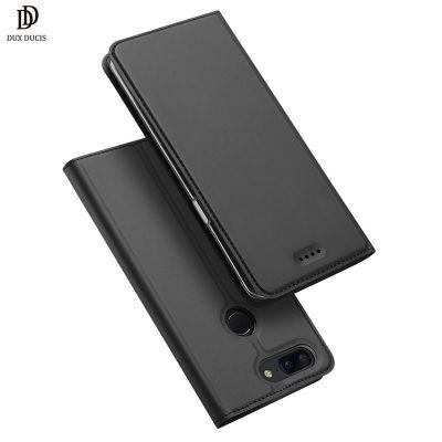 DUX DUCIS PU Leather Flip Case for OnePlus 5T