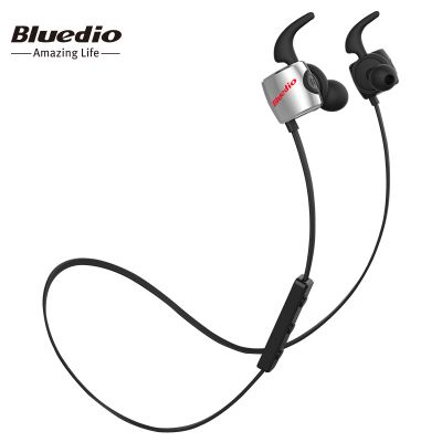 Bluedio TE Sports Wireless Bluetooth In-ear Earphones with Mic Double-cavity