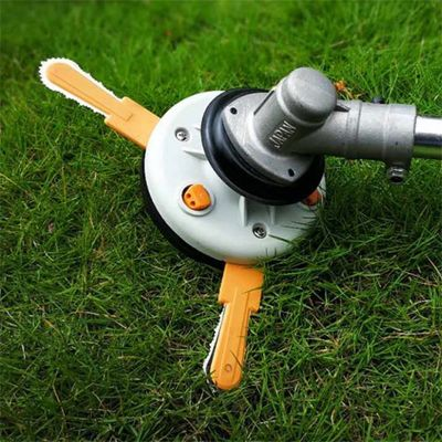 Dual-use Grass Trimmer Head Nylon Line Cutter Lawnmower Garden Tools Parts